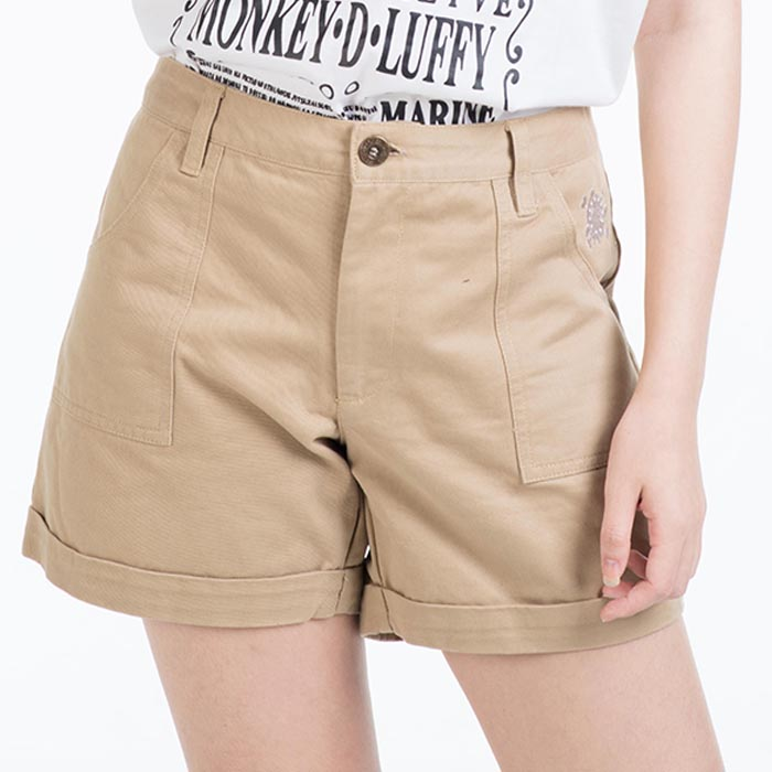 Shorts One Piece Chopper Brown