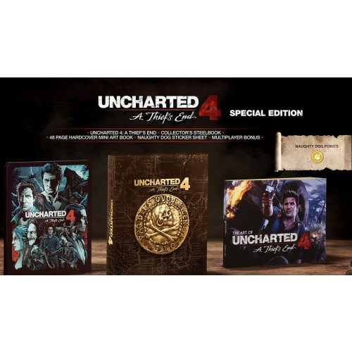 PS4: Uncharted 4: A Thief's End (Special Edition) [R3]