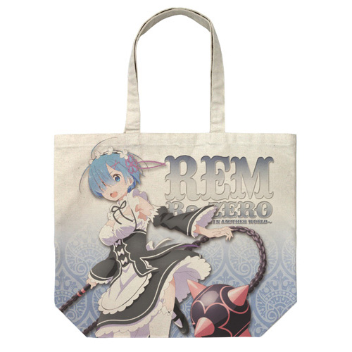 Ream and Morning Star Full Graphic Large Tote Bag