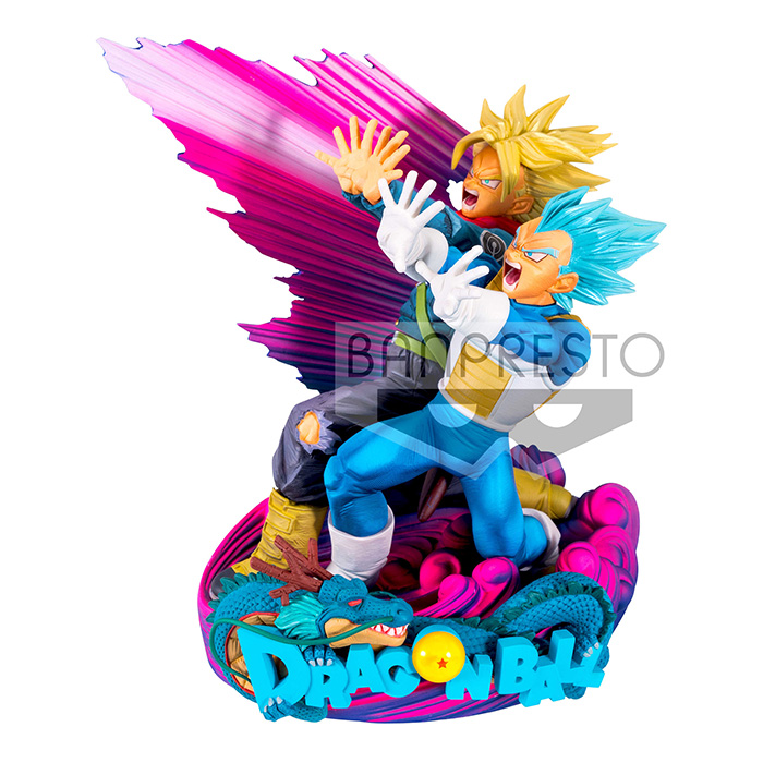 DB SUPER SUPER MASTER STARS DIORAMA II VEGETA & TRUNKS -THE BRUSH II-