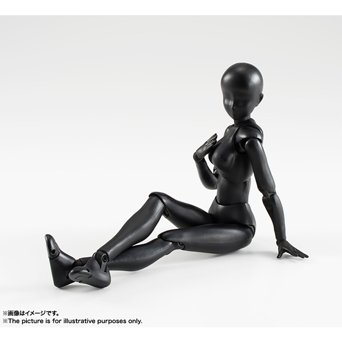 S.H.Figuarts Body-chan Solid Black Color Ver.