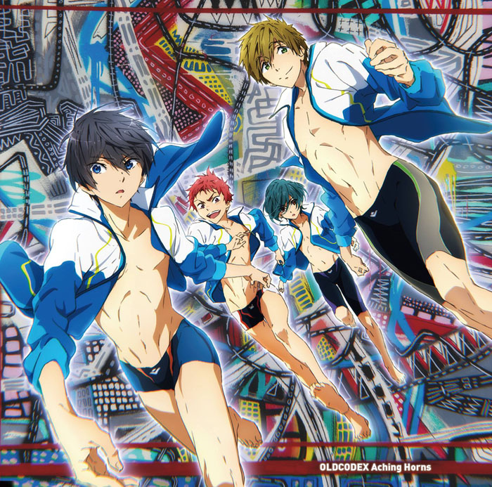 High Speed! -Free! Starting Days- Aching Horns [Anime Edition]
