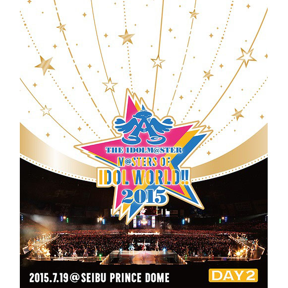 THE IDOLM@STER M@STER OF IDOL WORLD!!2015 Live Blu-ray Day2