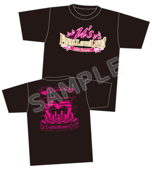Love Live! µ's Final LoveLive! ~µ'sic Forever ~ T-Shirt Size S