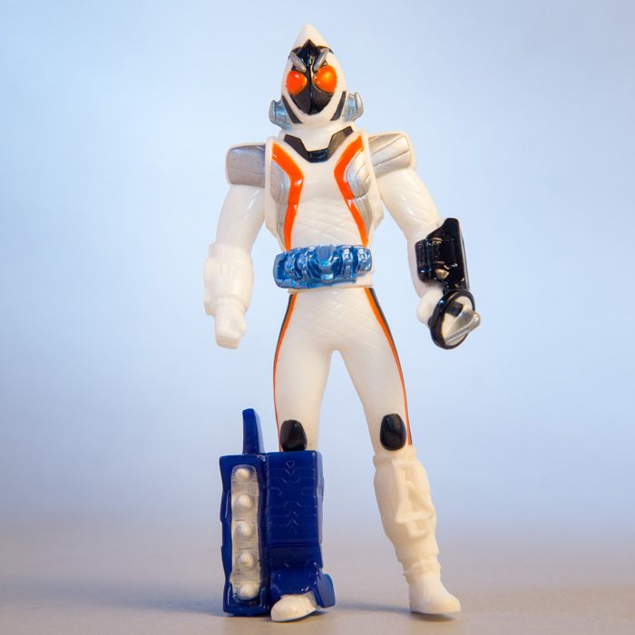 [1] Mini Soft Figure Fourze (launcher)
