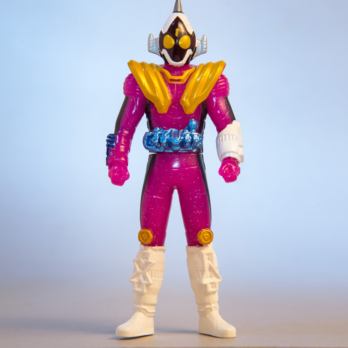 [3] Mini Soft Figure Fourze meteor fusion states