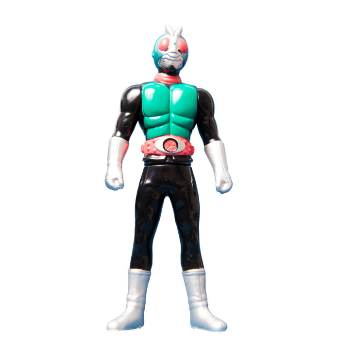 [6] Mini Soft Figure Masked Rider 1