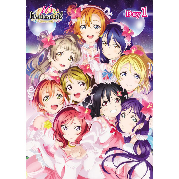 Love Live! µ's Final LoveLive! ~µ'sic Forever ~ Day1 [DVD]