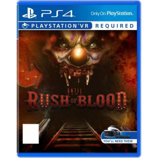 PS4 : Until Dawn : Rush of Blood [Z3]