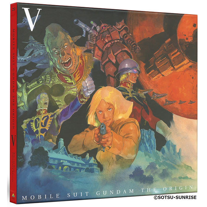 Mobile Suit Gundam The Origin V - Blu-ray Collector's Edition