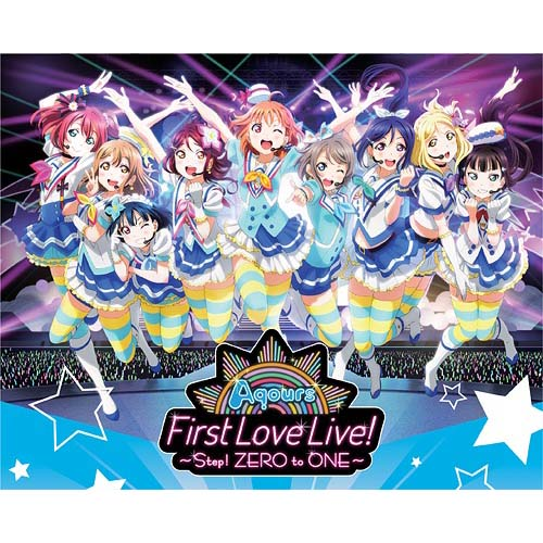 Love Live! Sunshine!! Aqours First LoveLive! - Step! ZERO to ONE - Blu-ray Memorial Box