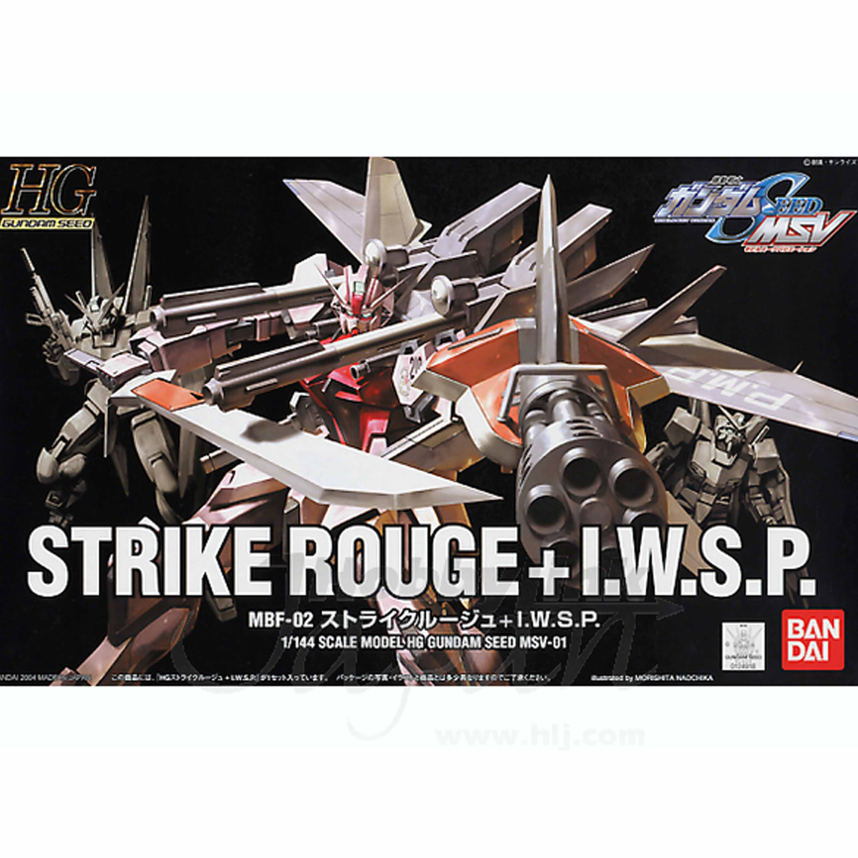 1/144 HG STRIKE ROUGE + IWSP