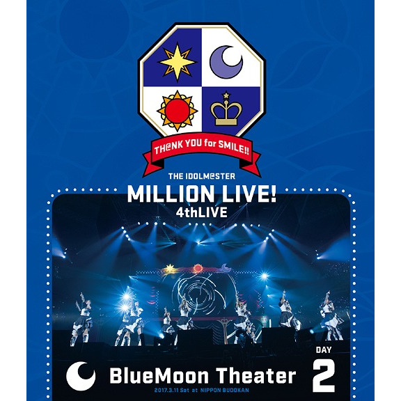 THE IDOLM@STER MILLION LIVE! 4th LIVE TH@NK YOU for SMILE! LIVE Blu-ray Day2