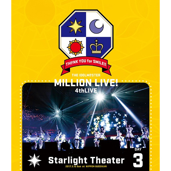 THE IDOLM@STER MILLION LIVE! 4th LIVE TH@NK YOU for SMILE! LIVE Blu-ray Day3