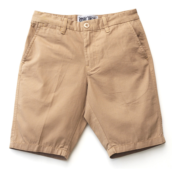 Shorts One Piece Luffy Brown