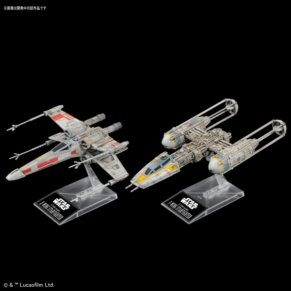 1/144 X-Wing Star Fighter & Y-Wing Star Fighter