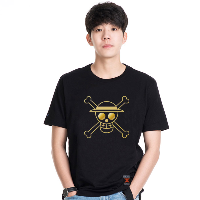 T-Shirt Icon Luffy Gold
