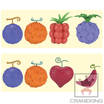 ONE PIECE DEVIL FRUITS GIFT SET~GIVE YOU SPECIAL POWER~