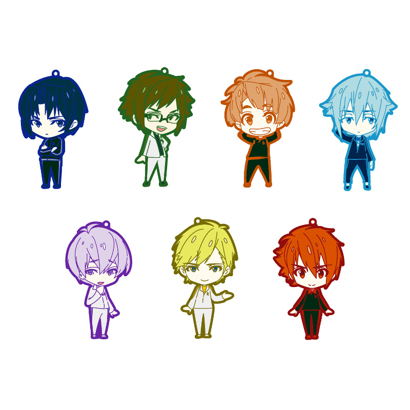 IDOLiSH7 Mini Character Rubber Strap - Jersey ver.- [BOX]