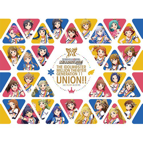 The Idolm@ster Million The@ter Generation 11 Union!! [CD+Blu-ray]