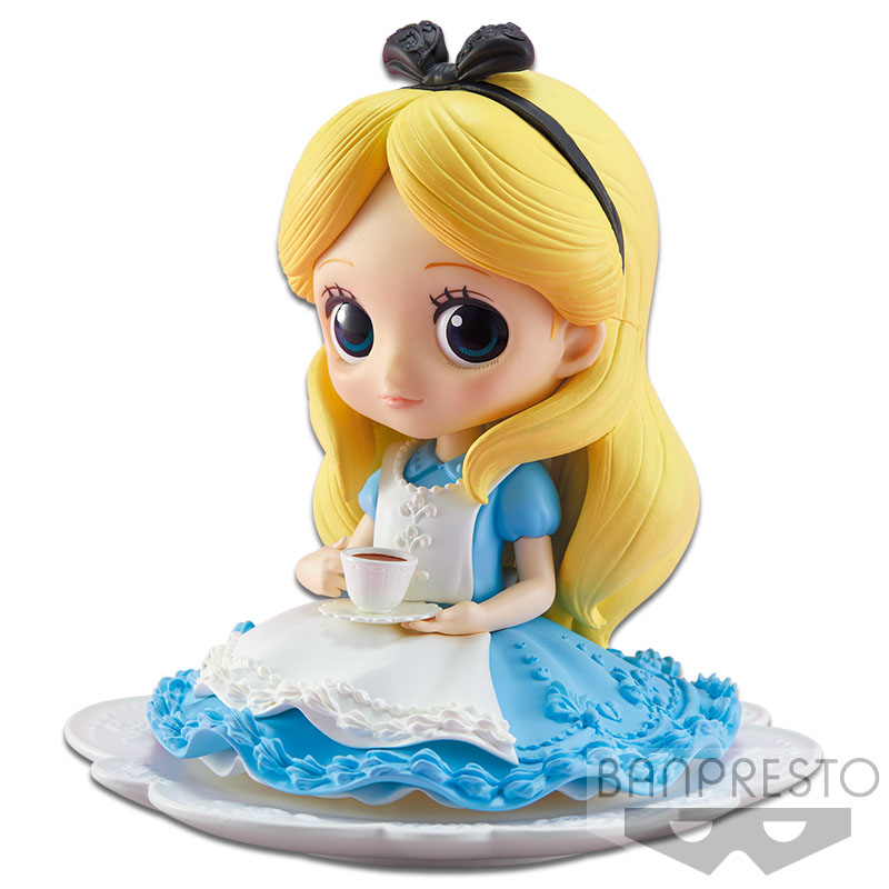 Q POSKET SUGIRLY DISNEY CHARACTERS -ALICE-(B MILKY COLOR VER)
