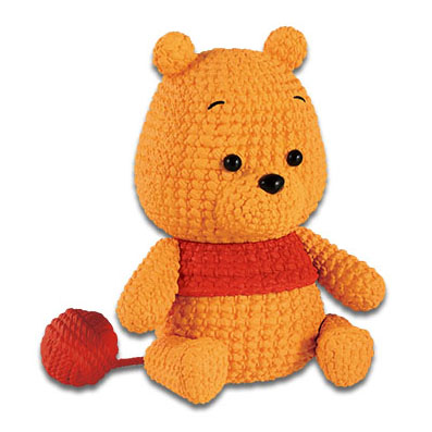 DISNEY CHARACTERS AMICOT-WINNIE THE POOH