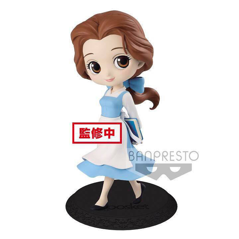 Q POSKET DISNEY CHARACTERS-BELLE COUNTRY STYLE-(B PASTEL COLOR VER)