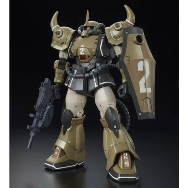 HG 1/144 YMS-07A-0 Prototype Gouf (Mobility Demonstration Sand Color Ver.)