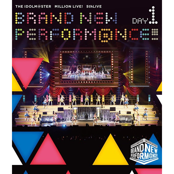 THE IDOLM@STER MILLION LIVE! 5th Live Brand New Performance!!! Live Blu-ray Day 1