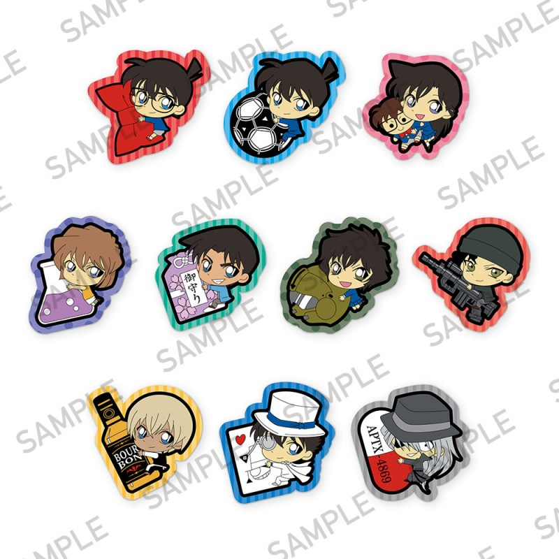 [Box] Detective Conan PitaColle Clear Clip Badge