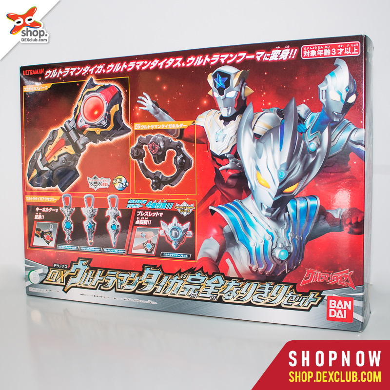 DX ULTRAMAN TAIGA NARIKIRI SET (Perfect Dress-up Set)