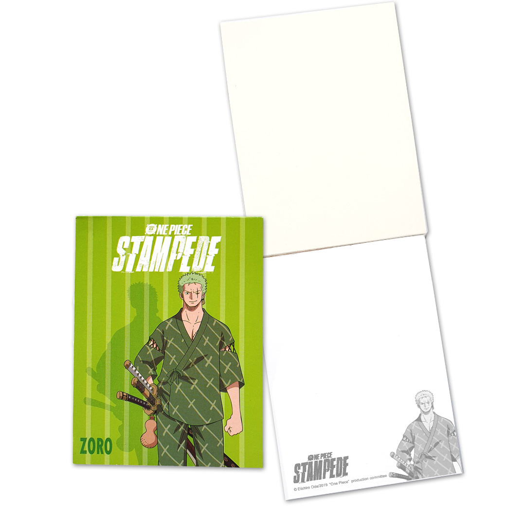 Mini Notepad OP Stampede : GR