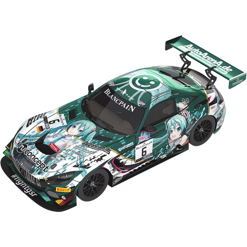 Character Vocal Series 01 Vocaloid Hatsune Miku 1:18 #6 Mercedes-AMG Team Black Falcon 2019 SPA24H Ver