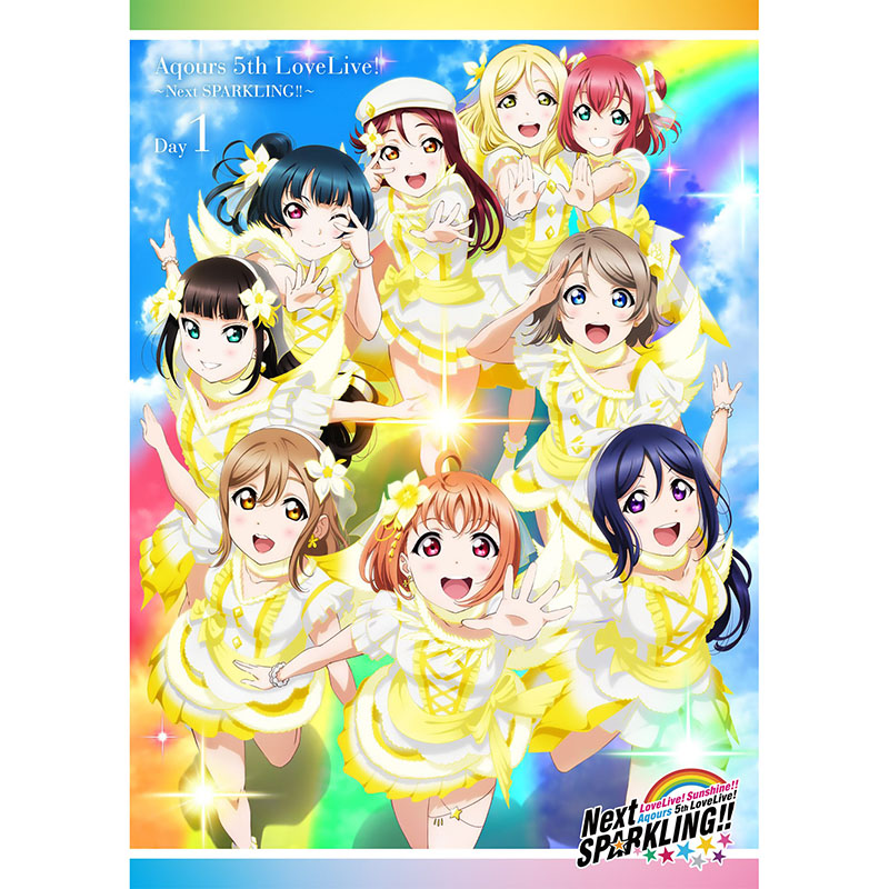 Love Live! Sunshine!! Aqours 5th LoveLive! - Next SPARKLING!! - Blu-ray Day 1