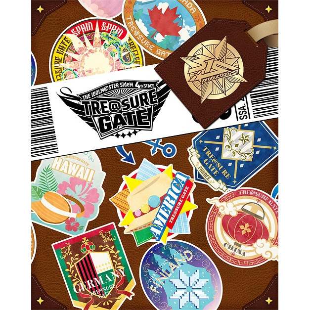 THE IDOLM@STER SideM 4th Stage - TRE@SURE GATE - Live Blu-ray [Complete Box] [Limited Edition]