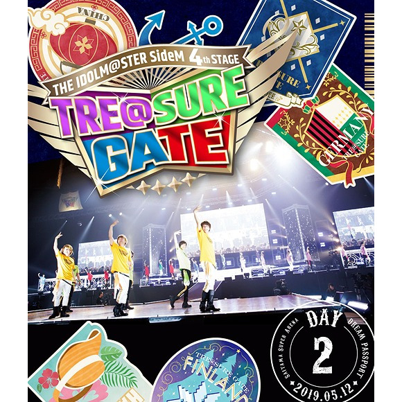 THE IDOLM@STER SideM 4th Stage - TRE@SURE GATE - Live Blu-ray [Dream Passport] [Day 2 / Regular Edition]