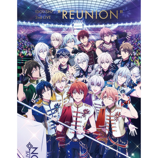 IDOLiSH7 2nd Live Reunion Blu-ray BOX -Limited Edition- [Limited Release]