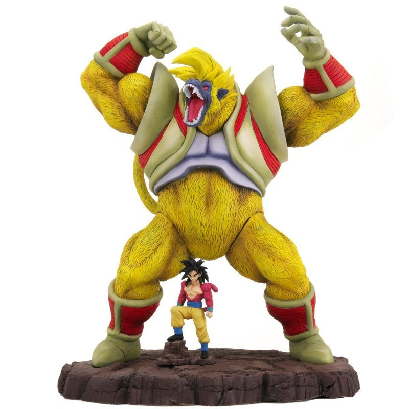 Dragon Ball Arise Ape Baby & Super Saiyan 4 Son Goku PVC Figure